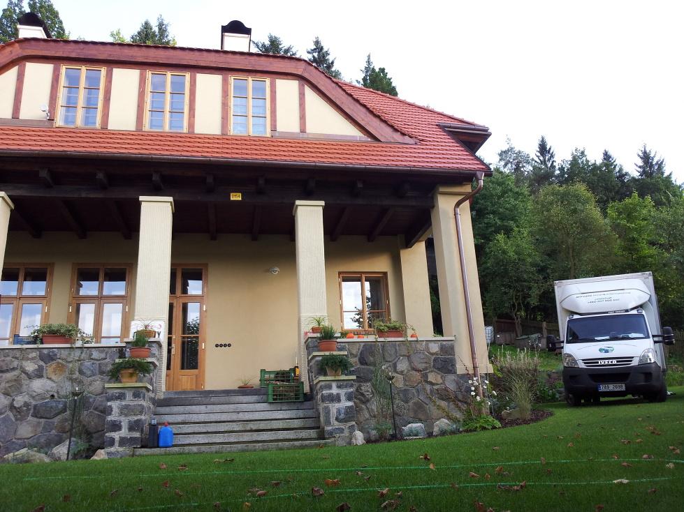 Stěhování bytu a rodinného domu v Praze