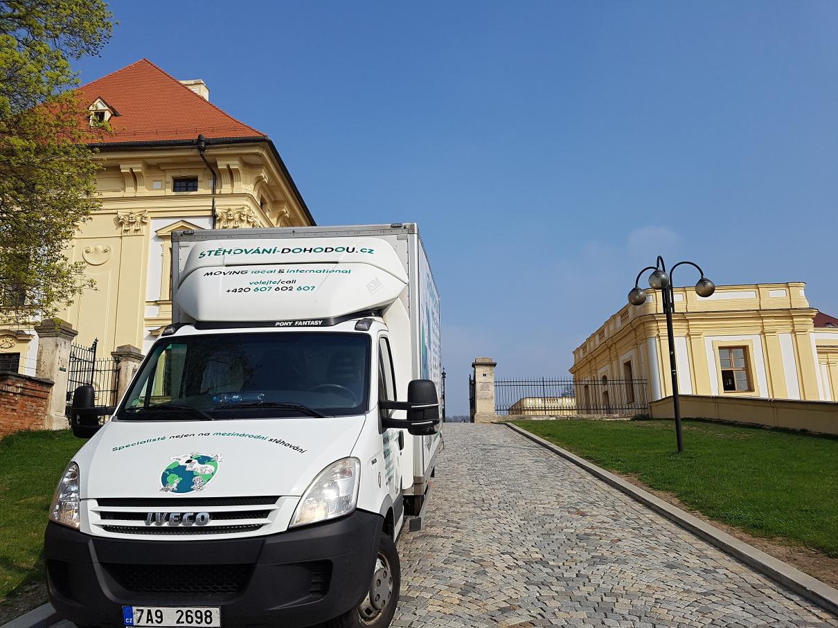 Bezpečné stěhování cenného nákladu Praha