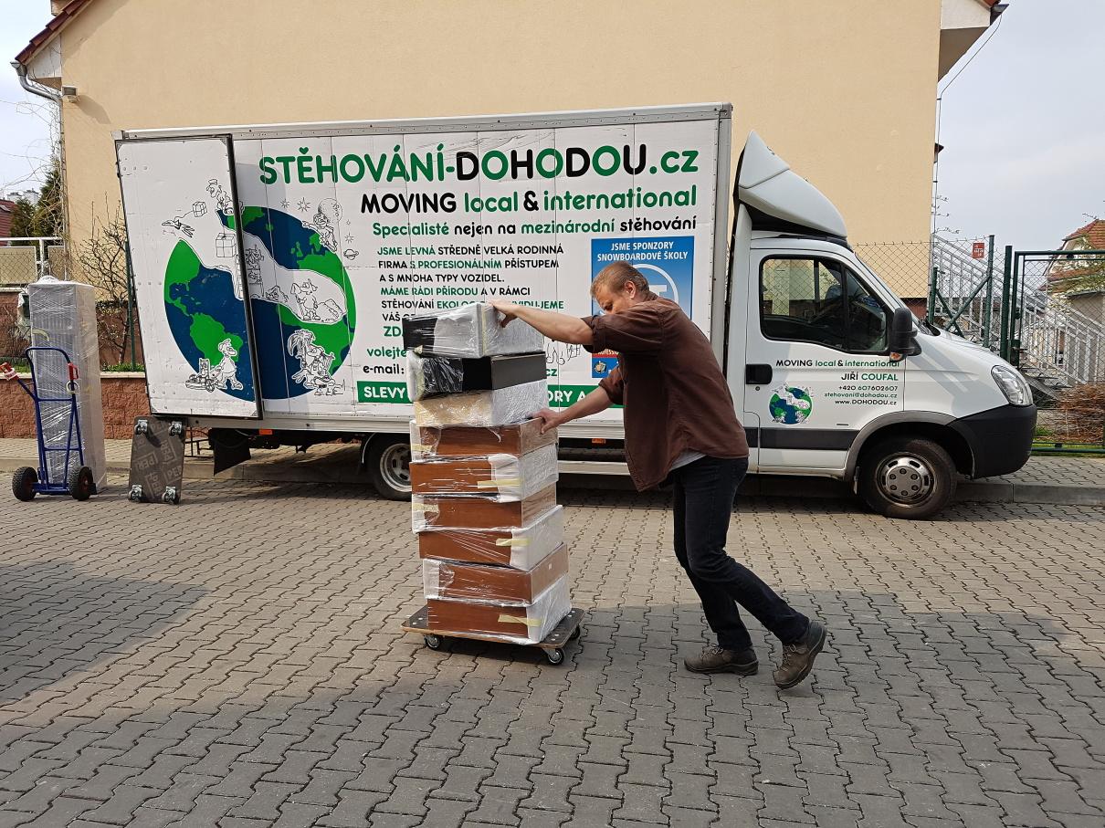 Levné stěhování bytu v Praze