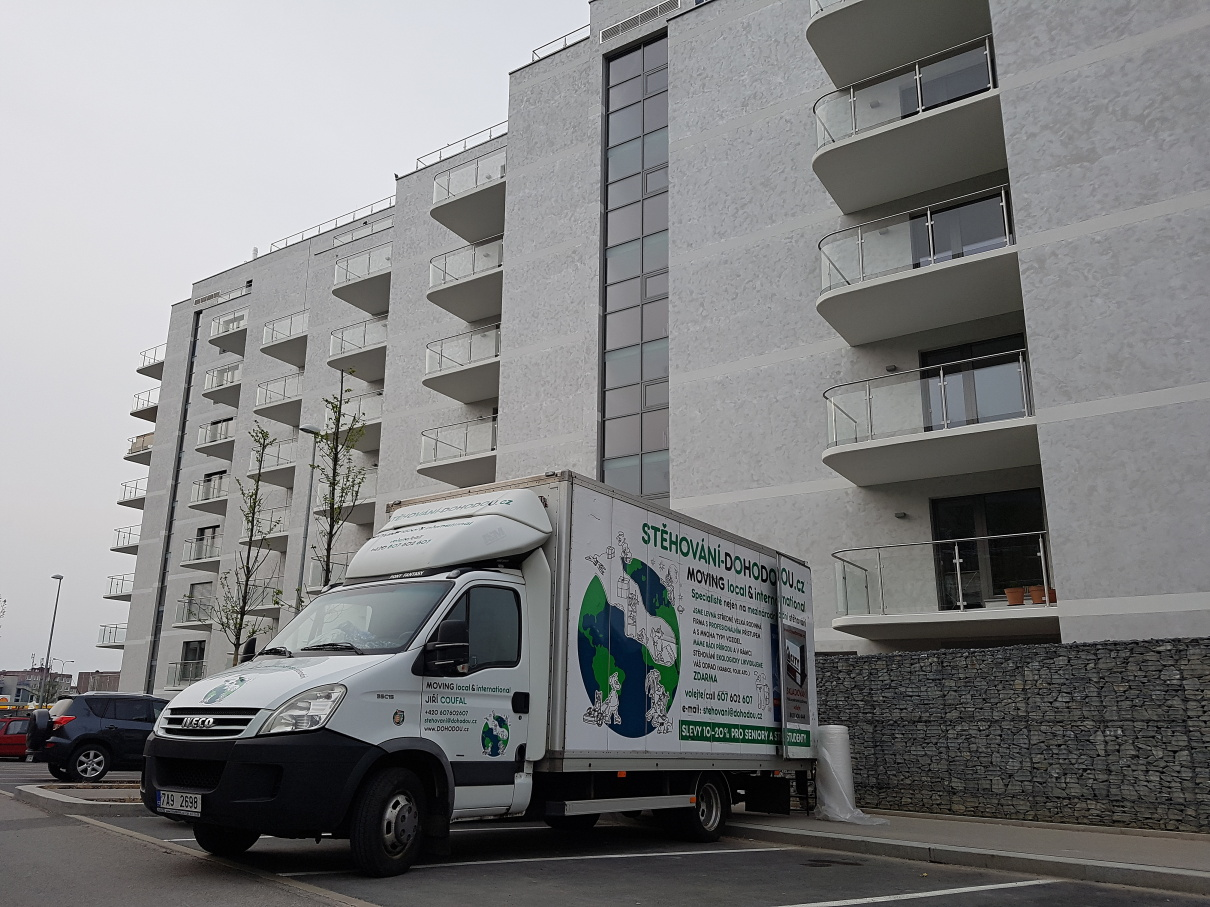 Levné stěhování bytu - Praha 4