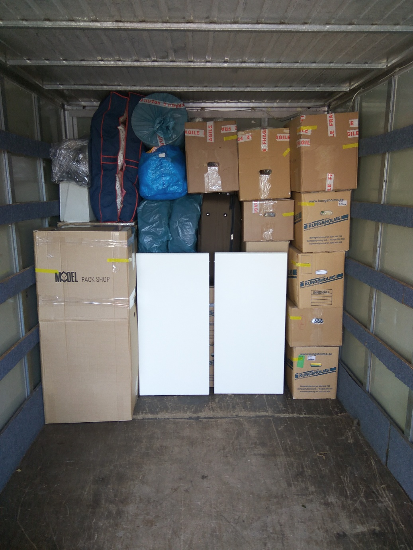 Bezpečný převoz př stěhování bytu