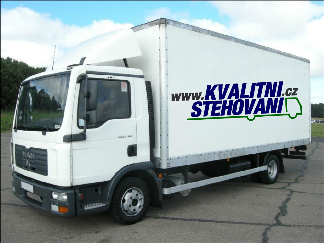 Stěhovací vůz - Kvalitní-stěhování.cz
